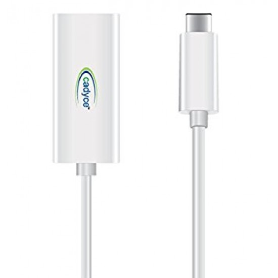 Cadyce USB-C to Gigabit Ethernet Adapter CA-C3GE Deltapage.com