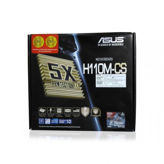 Asus MotherBoard H110M-CS Deltapage.com