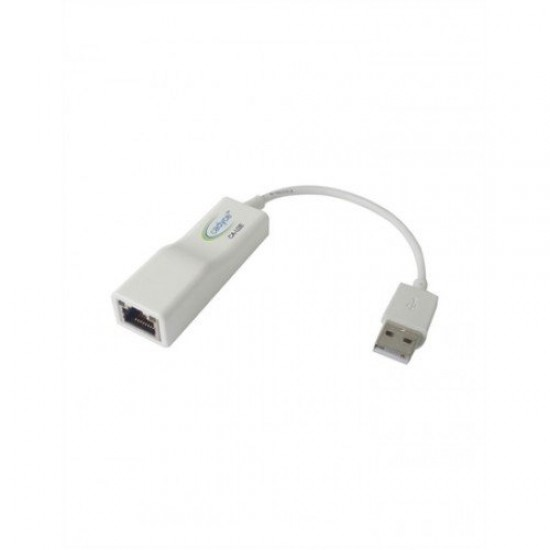 Cadyce USB to Ethernet Adapter (Supports for Mac O/S) CA-U2E Deltapage.com
