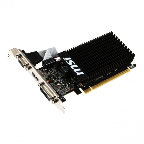 MSI GeForce GT 710 2GB DDR3 Low Profile Deltapage.com