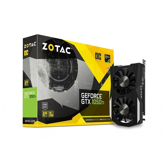 ZOTAC GeForce GTX 1050Ti OC 4GB GDDR5 ZT-P10510B-10L Deltapage.com