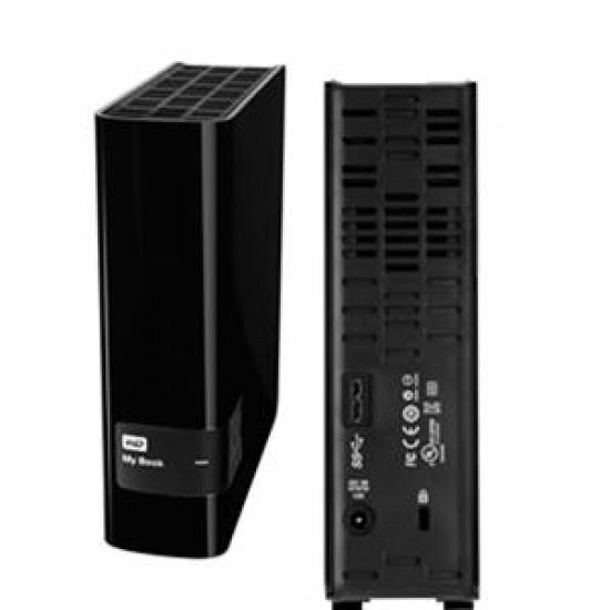 WD MyBook USB 3.0 External Powered HDD 4TB - WDBFJK0040HBK-BESN Deltapage.com