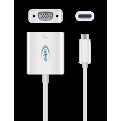 Cadyce USB-C to VGA Adapter CA-C3VGA
