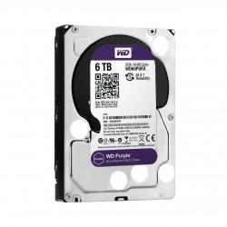 "WD Survailance Purple 5400 RPM 3.5"" Desktop HDD 6TB - WD60PURX"
