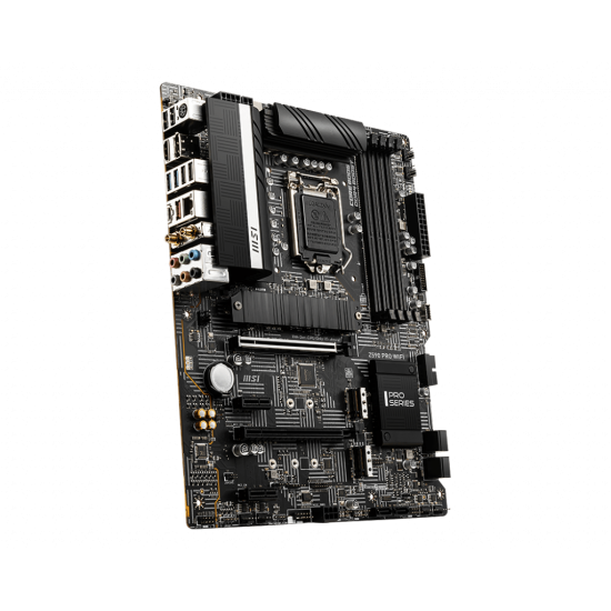 MSI Board Z590 PRO WIFI For Intel 10th & 11th Gen  Processors