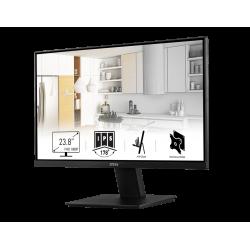 MSI PRO MP241 24 Inch Professional Monitor IPS Panel Full HD BorderLess, HDMi, VGA