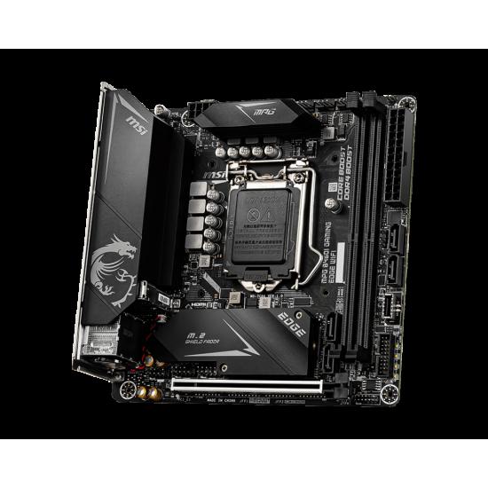 MSI Board MPG B460I GAMING EDGE WIFI For Intel 10th Gen  Processors