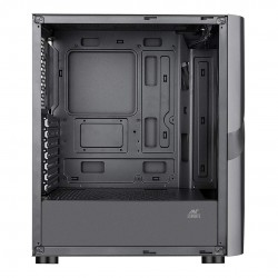 Ant Esports ICE-320TG Mid Tower Gaming Cabinet  With 3 x 120 mm ARGB Fan + 1 x 120 mm Black Fan
